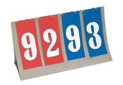 Champion Sports Tabletop Scorer - Red/White/Blue