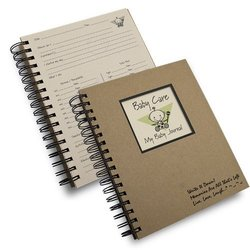 Baby Care, My Baby Journal   Kraft Hard Cover (prompts on every page, recycled paper, read more...)