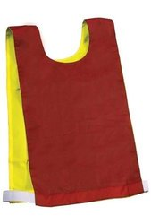 Reversible Pinnie - Red/Yellow