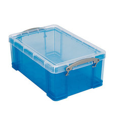 Really Useful 19-Inch Liter Box Polypropylene Material - Blue