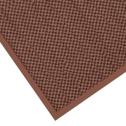 "Notrax 145 Preference Entrance Mat, for Inside Foyer Area and Main Entranceways, 3' Width x 10' Length x 5/16"" Thickness, Brown"