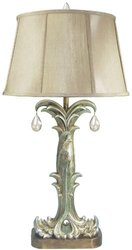 1-Light 35 in. Fontaine Lamp-DISCONTINUED silver