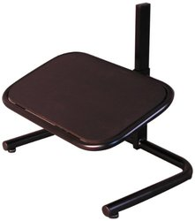 Milagon WS5050 Black Round Tube Construction Footrest