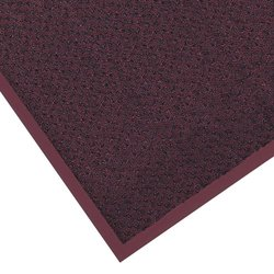 "Notrax 145 Preference Entrance Mat, for Inside Foyer Area and Main Entranceways, 3' Width x 10' Length x 5/16"" Thickness, Burgundy"