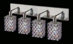 Elegant Lighting 1384W-O-S Mini 26 Inch Bath Vanity Light