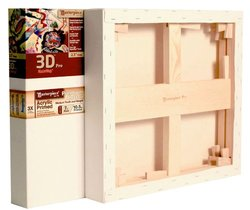"Masterpiece 3D PRO Monterey 7oz Acrylic Primed Cotton Canvas - 24"" x 60"""