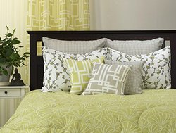 LJ Home Fashions 00129 Mykonos Piece Queen Comforter Set 3