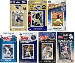 Topps MLB San Diego Padres 7 Different Licensed Trading Card Team Sets