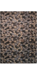 LA Rug 2'X8' Palazzo Collection Pebble Design Runner - Multi