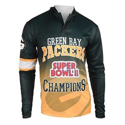 NFL Green Bay Packers Super Bowl II Champions Hoody Tee - Size: Small