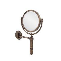 "Allied Brass 8"" Venetian Bronze Extendable Wall Mirror"