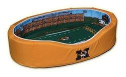 Missouri Tigers Stadium Pet Bed Team