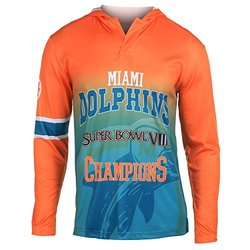 NFL Miami Dolphins Super Bowl VIII Champions Hoody Tee, XX-Large