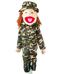 Sunny 28 Brunette-Haired Girl In Army Uniform - Gs4645