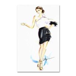 Trademark Fine Art ALI0362-C3047GG Jennifer Lilya - Addictive - Canvas Art