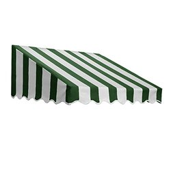 "Awntech? 6' San Francisco? Window/Entry Awning, 16"" x 30"", Forest/White"