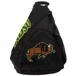 NCAA North Dakota State Thundars Slingback Backpack, Black