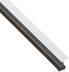 "Pemko 0.687"" Wx 1.5"" H x 48"" L Clear Anodized Aluminum Perimeter Gasketing"