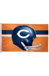 WinCraft NFL Chicago Bears Flag Helmet - Size: 3' x 5'