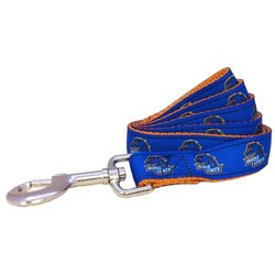 NCAA Boise State Broncos Dog Leash, Royal, X-Small/6-Feet