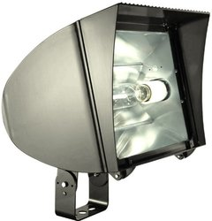 RAB Lighting FXLH250TPSQ/PCS Flexflood 250W Pulse Start Trun, Bronze