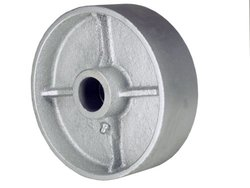 RWM Casters Cast Iron Wheel with Straight Roller Bearing (CIR-1030-12)
