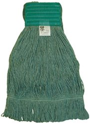 "Zephyr HC/Blend Loop Mop Head with 5"" Mesh Wide Band (28263) - Pack of 12"
