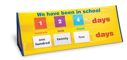 Learning Resources How Many Days Tabletop Pocket Chart