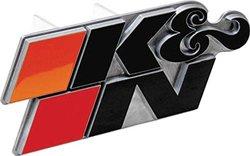K&N 87-4011 K&N Logo Hitch Cover