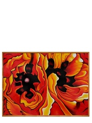 "Georgia O'Keeffe Oriental Poppies Paintings - Size: 30"" X 40"""