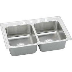 Elkay Stainless Steel Double Bowl Drop-In Kitchen Sink 1
