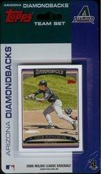 Topps MLB Arizona Diamondbacks Licensed 2006 Team Sets