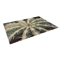 "Kess InHouse Angie Turner ""Cactus"" Plant Outdoor Floor Mat/Rug, 5-Feet by 7-Feet"