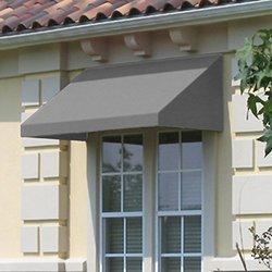Awntech EN1836-3G, Window/Entry Awning 3-3/8'W x 1-1/2'H x 3'D Gray