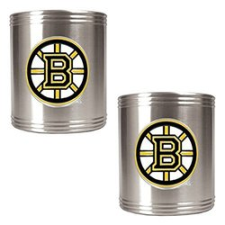 Great American NHL Logo Stainless Steel Can Holder Set Ottawa Senators