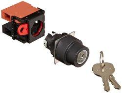 Omron Key Type Selector/Switch - Screw Terminal (A22K-3ML-11)
