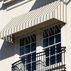 Awntech RN22-3B, Window/Entry Awning 3-3/8'W x 2-9/16'H x 2'D Burgundy