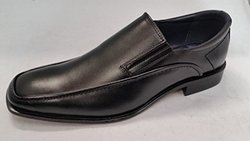 Joseph Abboud Men's Simpson Slip Loafer - Black - Size: 8