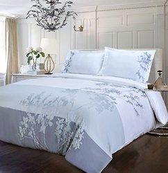 Superior Simple Luxury Sydney Piece Duvet Cover Set 3 - Blue - Size: F-Q