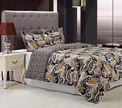 300 Thread Count Midnight Duvet Cover Set, Full/Queen