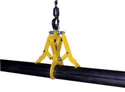 Vestil 1400 lbs Load Limit Heavy Duty Steel Pipe Grab for Cast Iron Pipe
