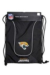 NFL Jacksonville Jaguars Doubleheader Back Sack, Black/Black, 18''