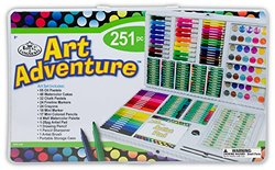 Royal Brush AVS-532 251 Piece Art Adventure Art Set, Multicolor