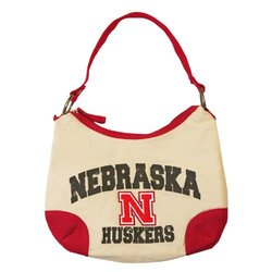 NCAA Nebraska Cornhuskers Game Plan Handbag, Natural
