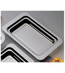 Bon Chef Plain Design Rectangle Food Pan with Round Handles (5206HR)