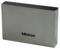 Mitutoyo 2.1mm Length Steel Rectangular ASME Grade AS-1 Metric Gage Block