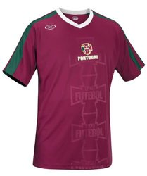 International Series Men's Portugal Short Sleeve Soccer Jersey -Purple -S