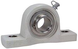 "Peer Bearing Stainless Steel 3-3/4"" Bolt Center Pillow Block Pearing"
