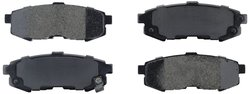 Axxis 45-10730D Deluxe Advanced Premium Ceramic Brake Pad Set