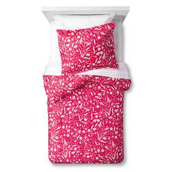 Pillowfort 2-Piece Floral Festival Comforter Set - Pink - Size: Full/Queen